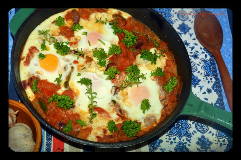 Poached Egg Rougaille
