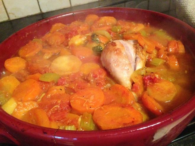 Morroccon Chicken Stew 007