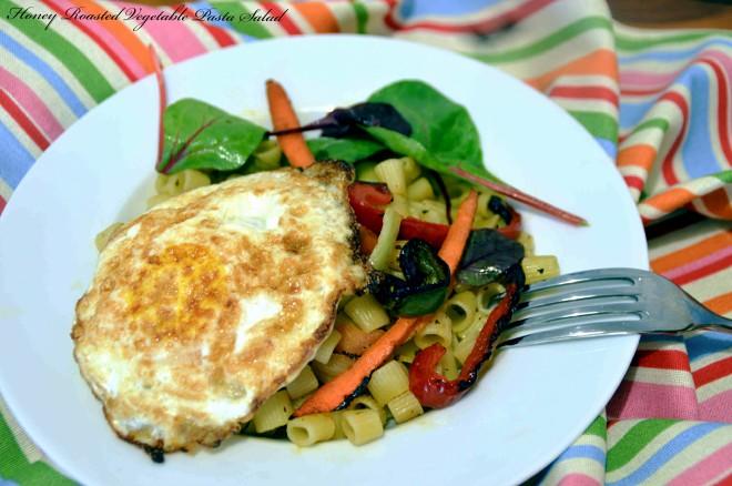Roasted Vegetables Pasta Salad