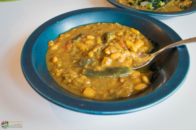 Mauritian Curried Bean Stew-4