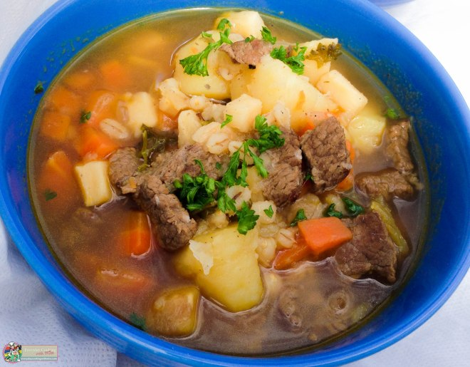 How to make a Hearty Steak and Barley Soup